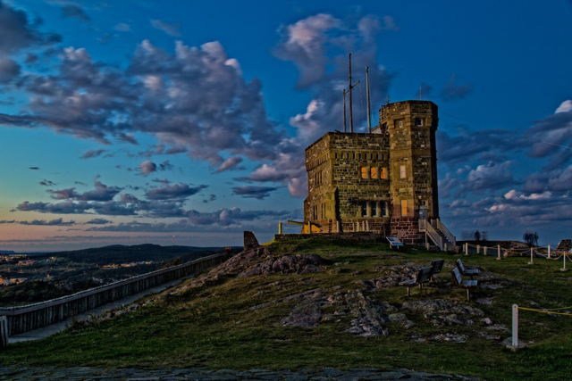 Cabot Tower Clouds