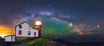 Ferryland Lighthouse Milky Way