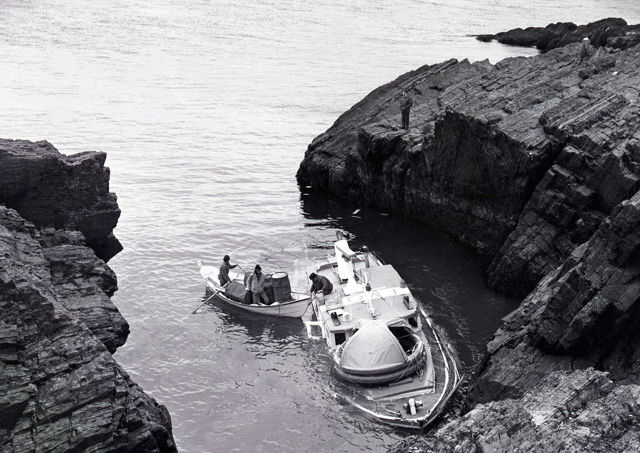 'Miquelon' ashore near Fortune - 1973