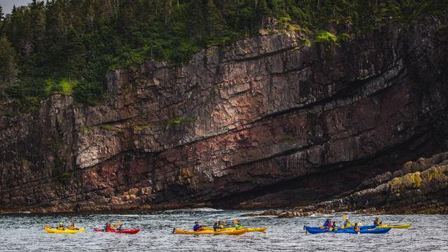 Kayakers