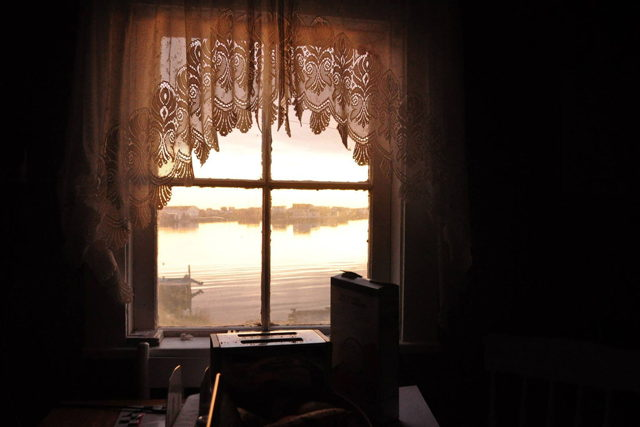 Morning at Charlie's Window