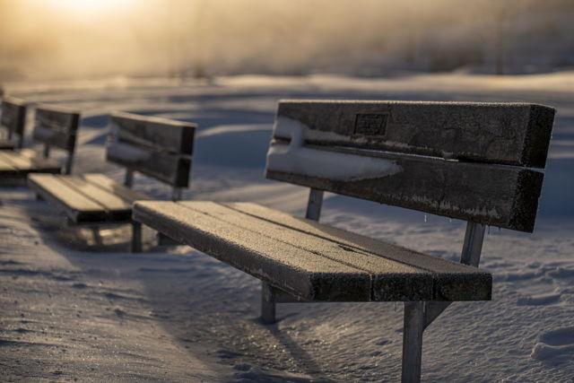 Wintertime Sunrise by Quidi Vidi Lake