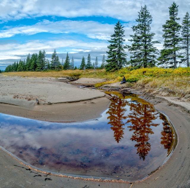 Porcupine Strand, Labrador, Canada