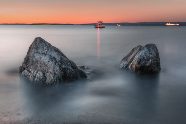 Topsail Beach Sunset