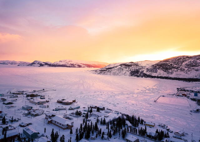 Sunrise Over Mount Sophie