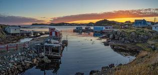 Dawn at Durrell, Twillingate, Newfoundland