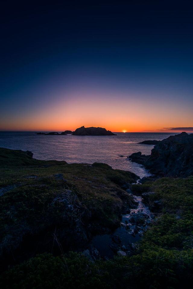 Sunset in Sleepy Cove