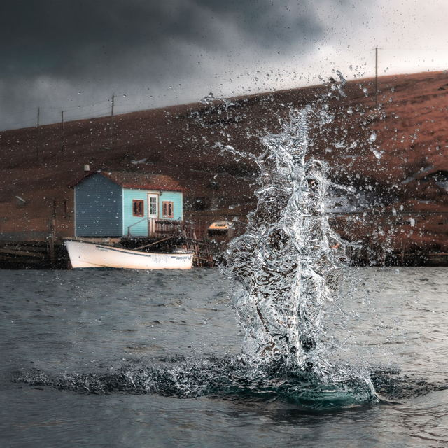 Splash in Ferryland