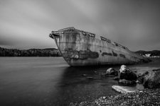 The SS Charcot - Monochrome