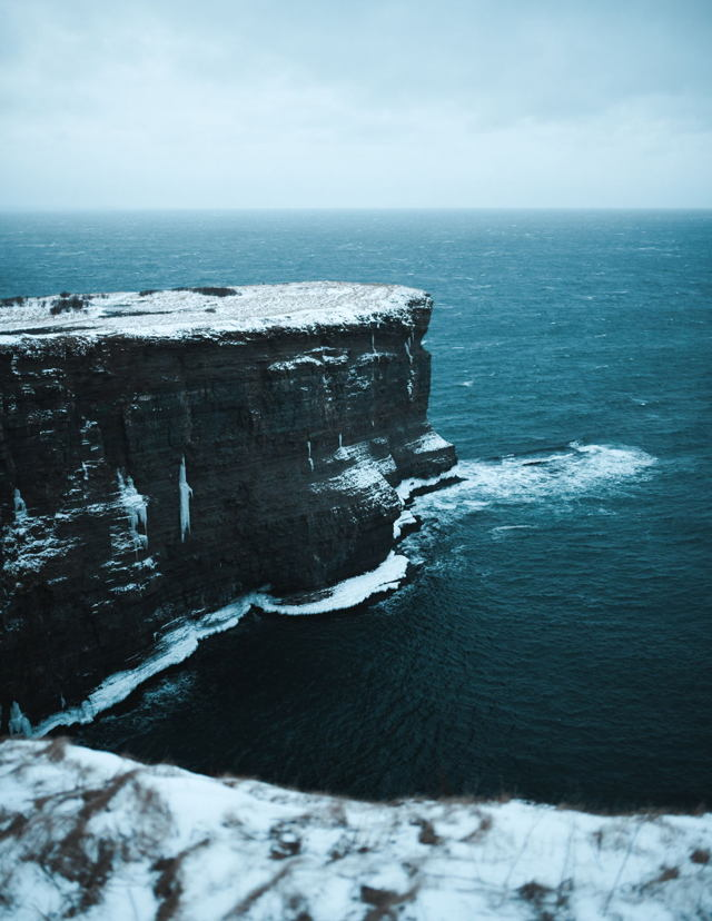 Windy Cliffs of Bell Island
