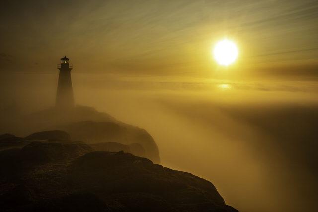 Cape Spear Morning Fog