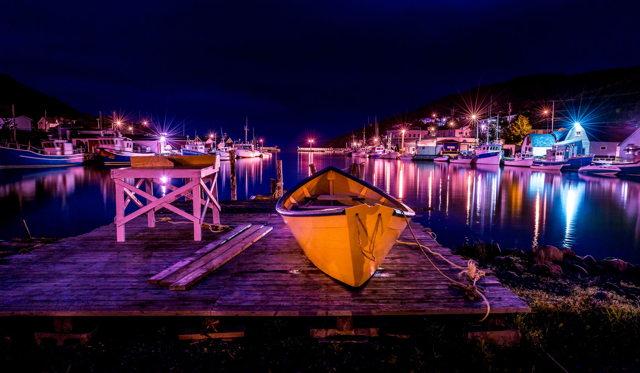 1 ba Petty Harbour Blue Moon Dory