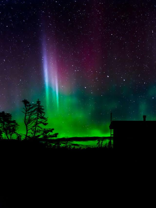Gaff Topsails Northern Lights
