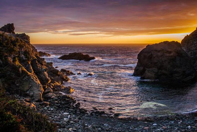 Bottle Cove Sunset