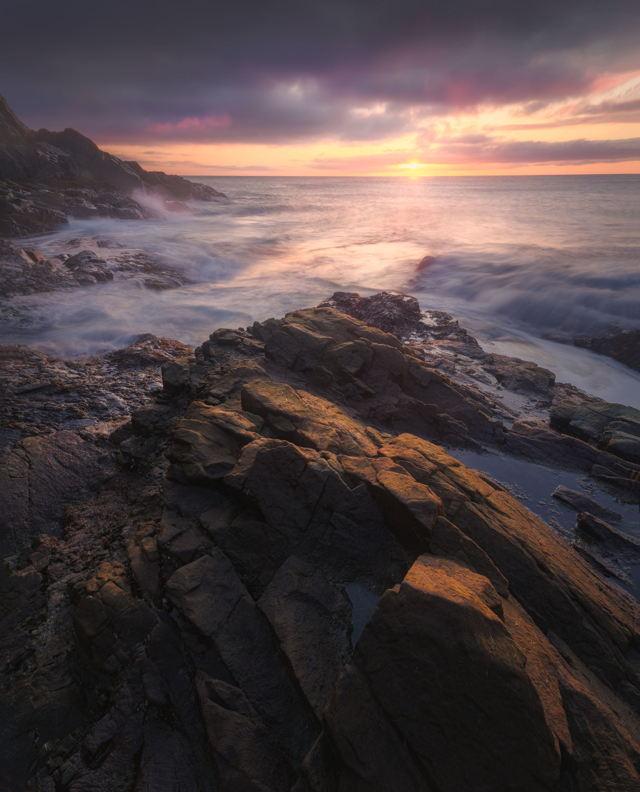 Sunlight on the Rocks
