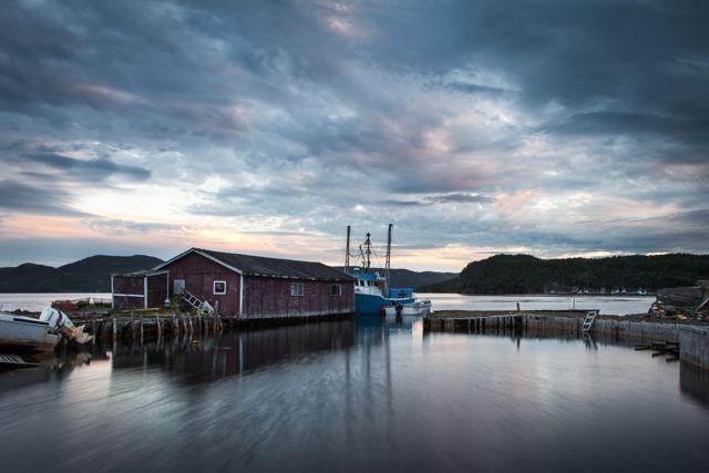 Hickman's Harbour Sunset