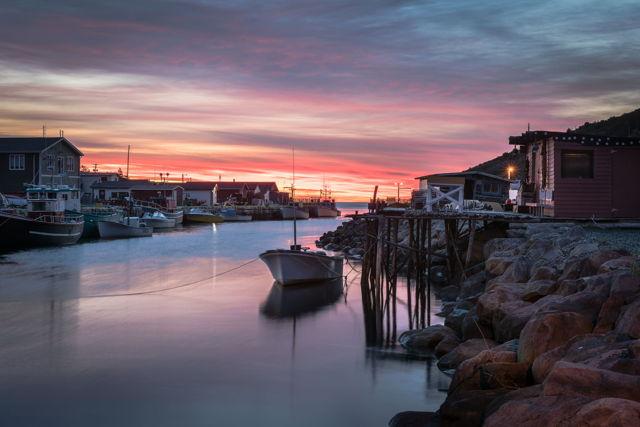 1 ba Petty Harbour Sunrise w4