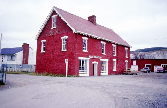 Harbour Breton - Hugh Coady Ltd Premises - 1960s