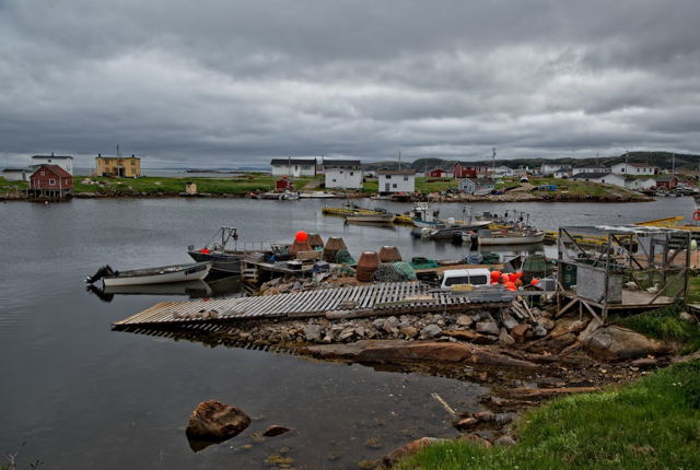 Greenspond in the Evening