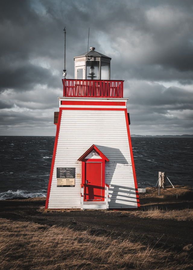FORTUNE HEAD LIGHTHOUSE