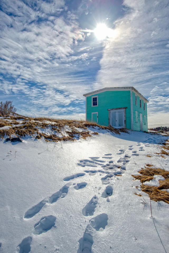 Winter Blues, Perry's Cove, Newfoundland