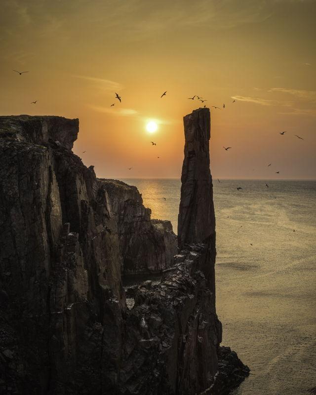 Hazy Sunrise Spillars Cove