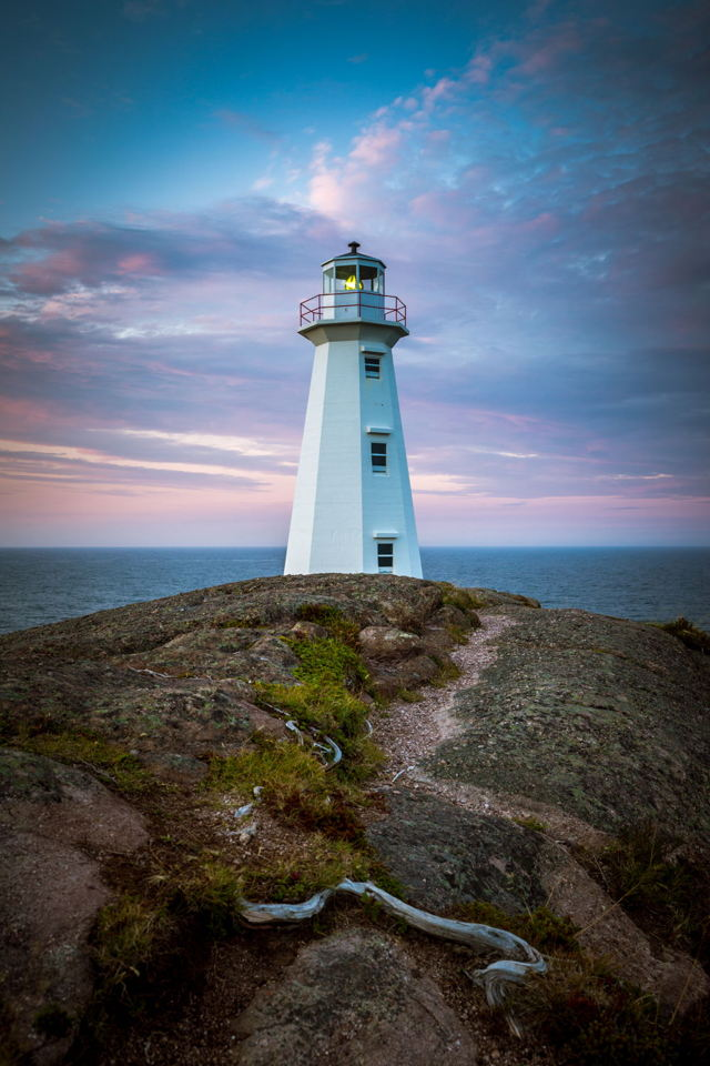 Pretty in Pastels - Cape Spear Lighthouse