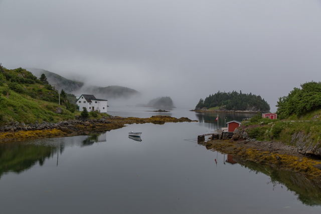 Foggy and Peaceful in Burin