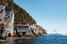 Twine House on a Cliff in Shoe Cove