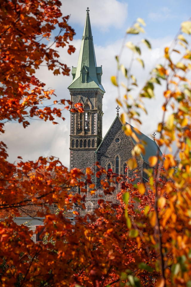 Surrounded by Fall - St. Patrick's Church