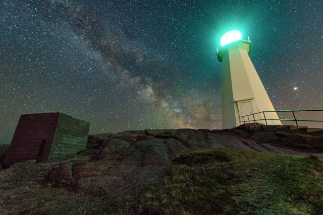 Cape Spear Milky Way
