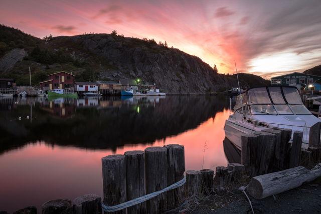 1 ba Quidi Vidi  Autumn Sunrise w80