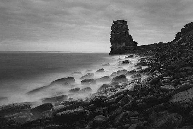 Monolith On The Sea
