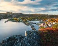 Autumn View of Brigus