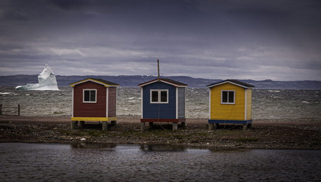 Iceberg and Color Houses in Cavendish