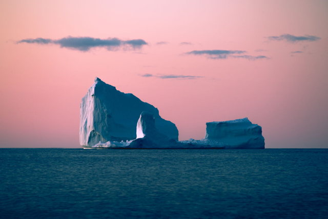 Iceberg at Dawn