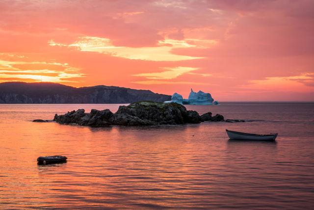 Iceberg Alley Sunset