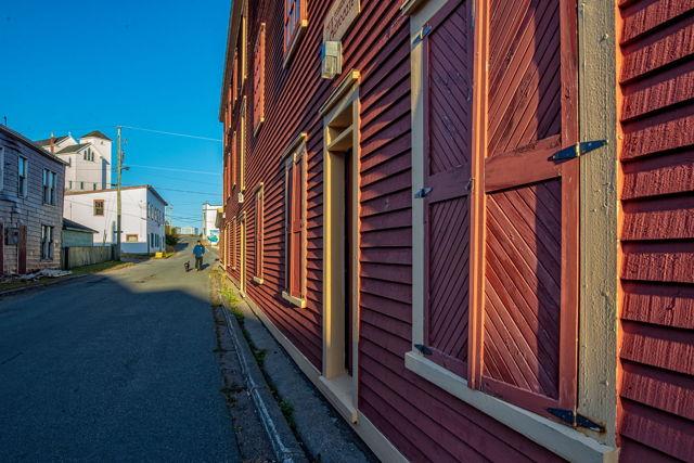 Morning Stroll, Port Union, Newfoundland