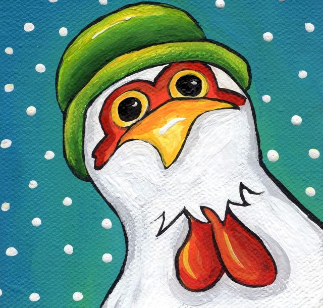 Wavey Has a New Winter Cap