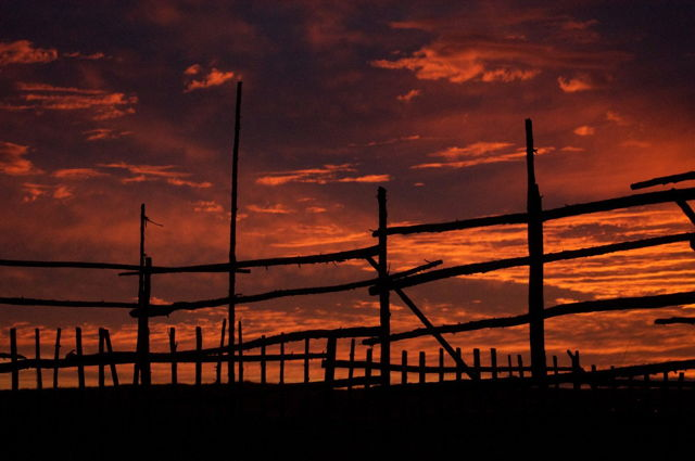 Tilting Fences and Skies