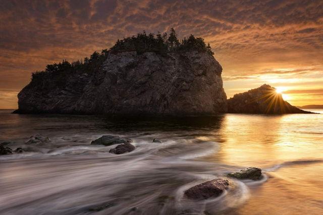 Chance Cove Island at Sunrise