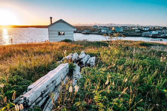 Fishing Community Sunset