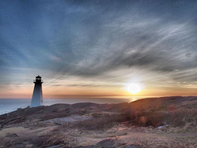 The ethereal sunrise