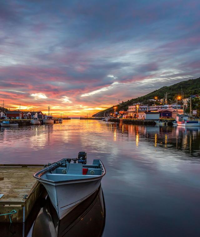 Petty Harbour Sunrise v8