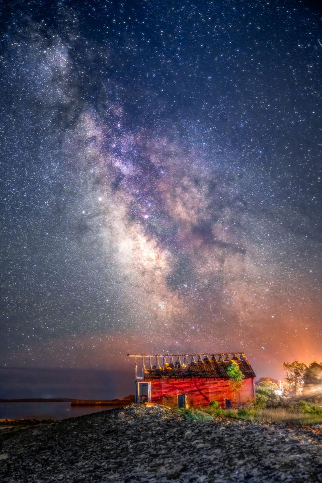 Abandoned Under the Stars
