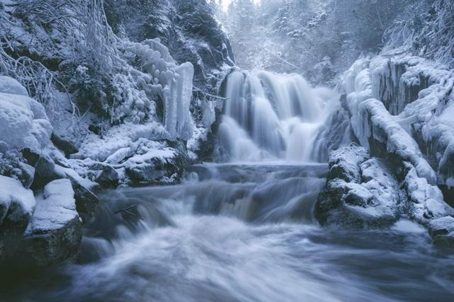 Winter Waterfall Terrenceville