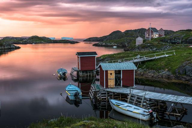 Change Islands Thunder Sunset