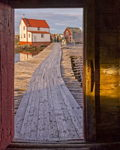 Stage Door, Tilting, Fogo Island, Newfoundland