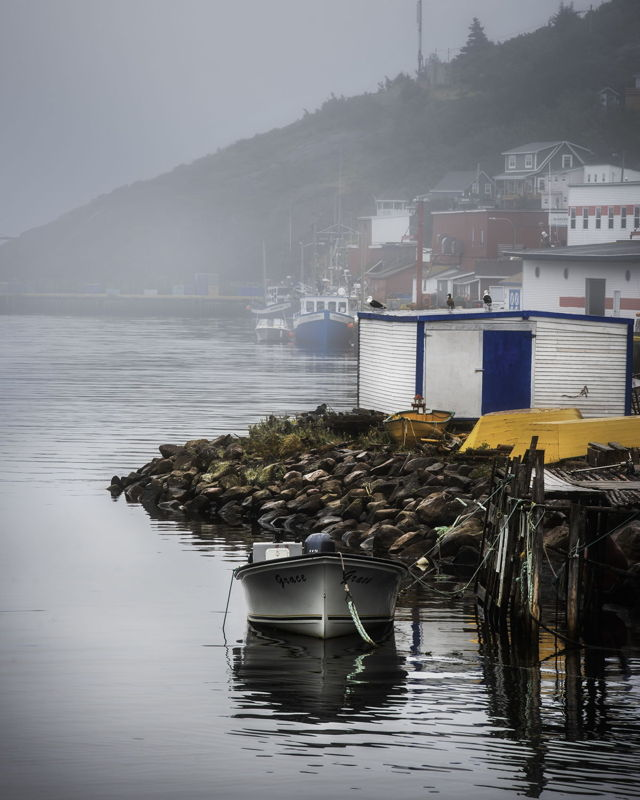 Fog Rolling in at Petty Harbour