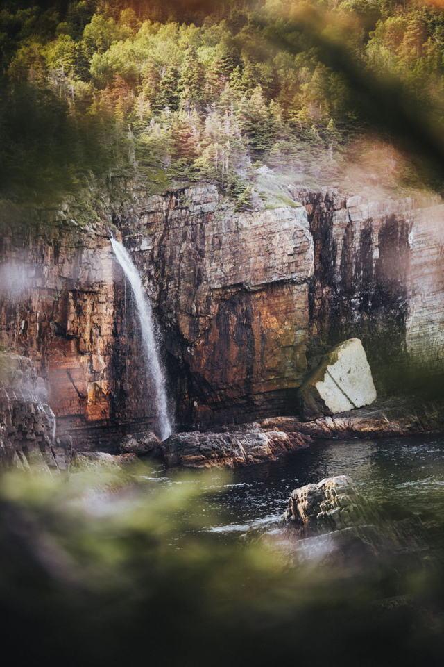 Spout Cove Falls